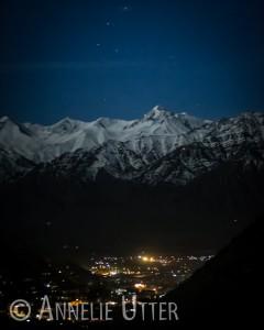 Vandringsresa Himalaya vy över Leh