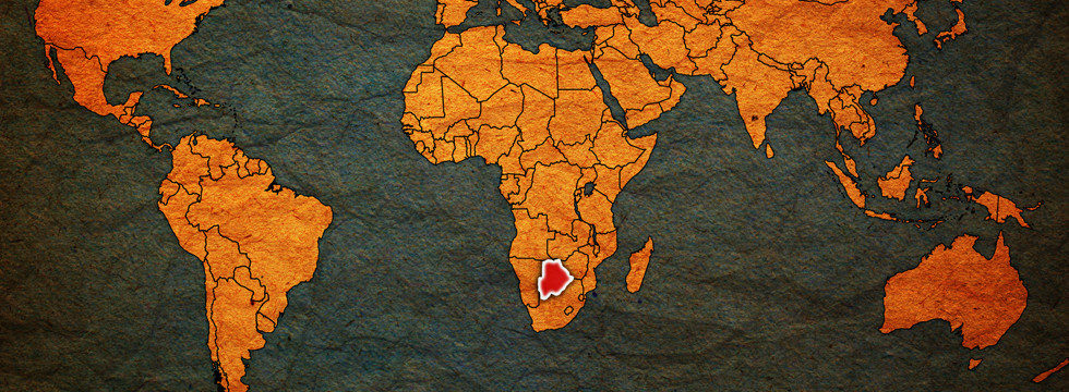 karta botswana