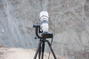 Kamerautrustning Himalaya