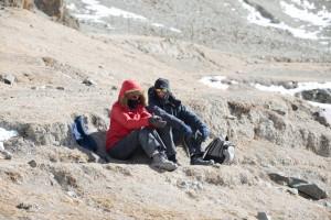 klä sig rätt mot kylan i Himalaya