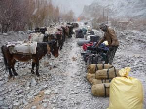 Packning på vår vandringsresa i Himalaya