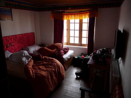 hotellrum Leh indien