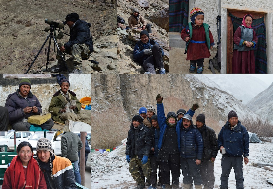 Ladakh - människor Dehli resedagbok snöleopard och tigersafari