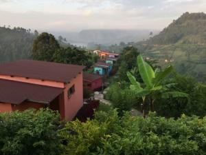Häftigt boende i Uganda